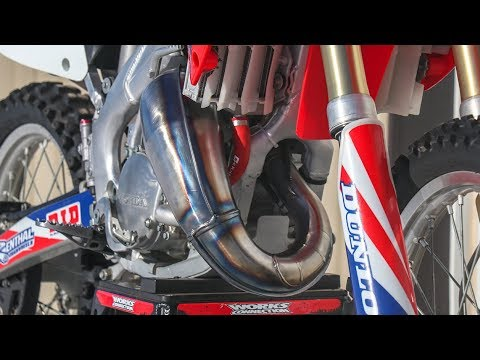 Fixing Dented Two Stroke Pipe