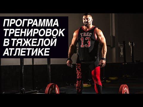 Программа тренировок в тяжелой атлетике: как составить | Дмитрий Берестов