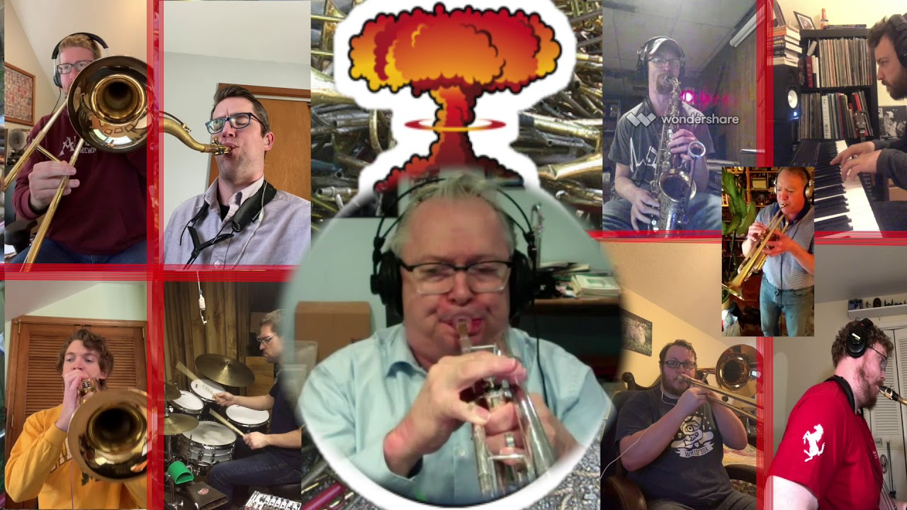 Mixology, the NuEVI and Trumpet Playing with Home Recording - Musician on a Mission