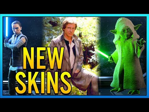 ALL NEW SKINS + PRICES - Star Wars Battlefront 2 Night on Endor Update