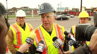 Michigan Gov. Rick Snyder Takes on Potholes