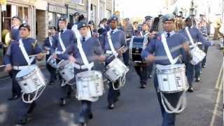 Remebrance Day Parade Saffron Walden 2012