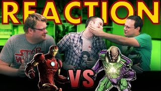 Iron Man VS Lex Luthor Death Battle REACTION!!