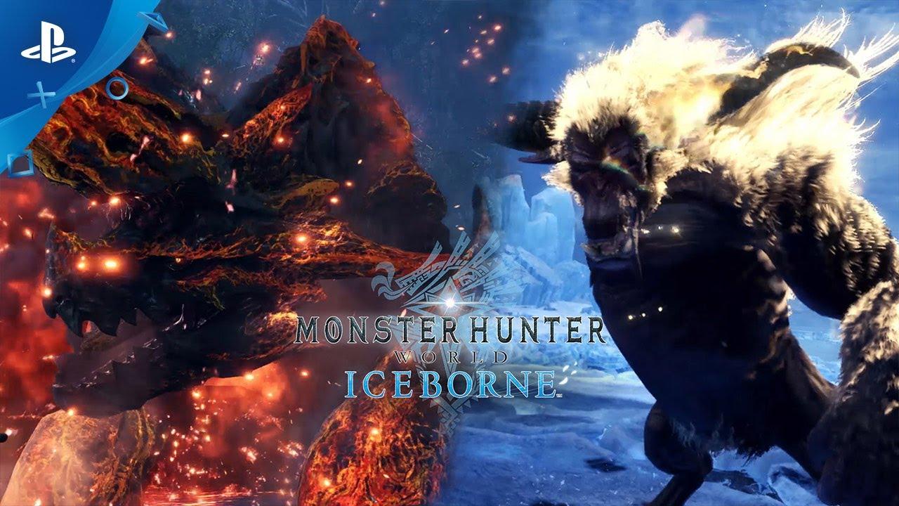 Monster Hunter World: Iceborne - Raging Brachydios & Furious Rajang | PS4 thumbnail