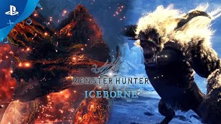 Monster Hunter World: Iceborne - Raging Brachydios & Furious Rajang | PS4