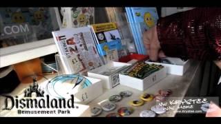 Pocket money Loans installation at Dismaland