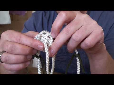 Two Lanyards Part 2 - Double Knife Lanyard Knot