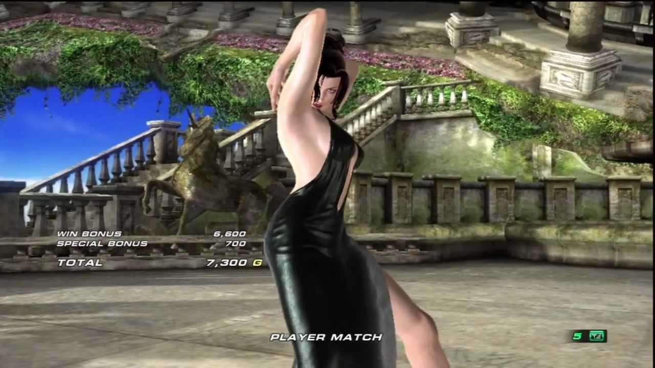 tekken 6 anna williams vs julia chang matches #1 12/16 - youtube