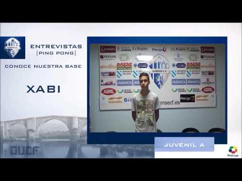 Entrevista a XABI del JUVENIL A