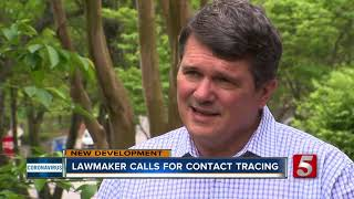 Lawmaker calls for contact tracing plan in Nashville