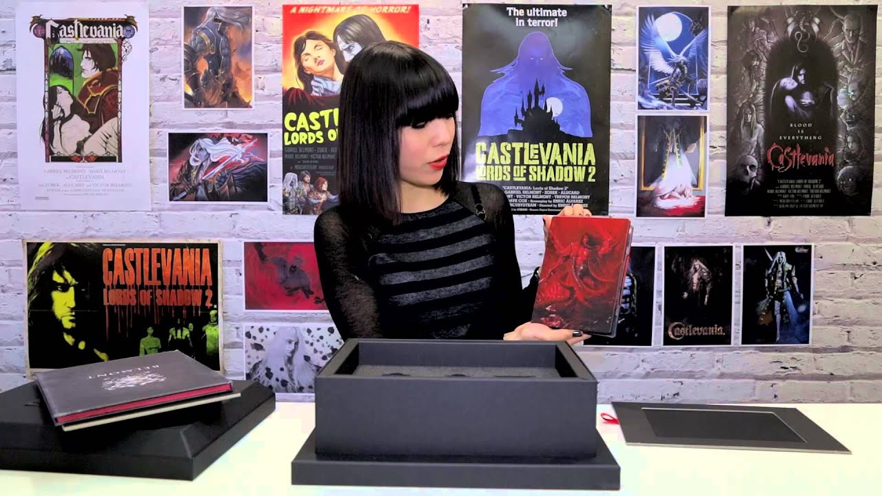 Castlevania Lords of Shadow 2 - Dracula's Tomb Premium Edition - Unboxing  Video