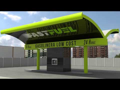 Fast Fuel Franquicia de Gasolineras Low Cost