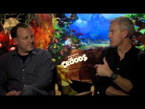 'The Croods' Directors Kirk De Micco and Chris Sanders Interview