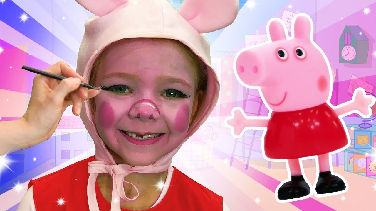 Peppa Pig Face Paint We Love Face Paint