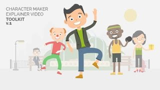Character Maker  Explainer Video Toolkit  After Effects template  envato videohive elements