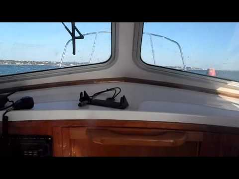 Sea trial Seaward 23