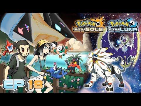 Gameplay Live Pokémon Ultrasole e Ultraluna #18 - Solgaleo, Lunala e Necrozma!