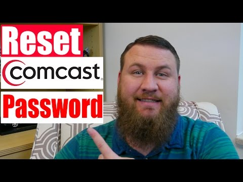 How to reset your Comcast.net Xfinity password in 2017