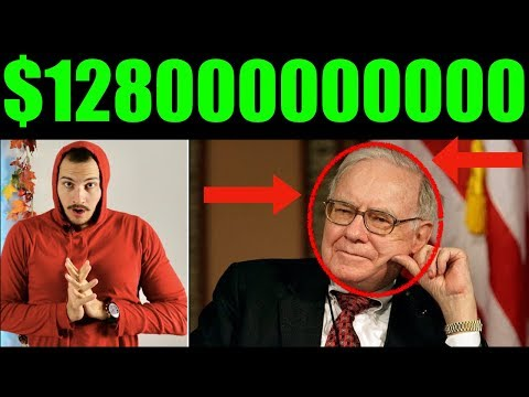 Warren Buffett Has $128,000,000,000 In Cash! Stock Market Crash Coming?
