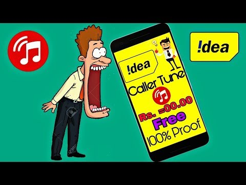 How to Set Free Caller Tune on idea Sim For Lifetime | 0 Rs. Subscription 2018 Hindi/Urdu