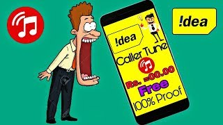 how to set free caller tune on idea sim for lifetime 0 rs subscription 2018 hindiurdu