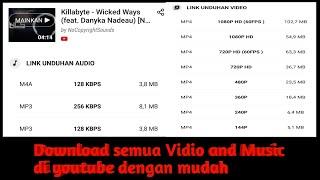 Cara download vidio dan lagu di youtube  Tutorial #3