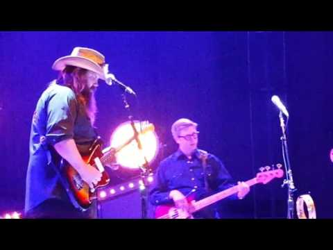 Chris Stapleton tribute to Prince by singing LIVE  Nothing Compares to You  Greek Theater,Berkeley