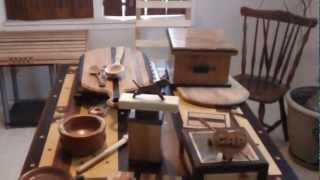 Wood Projects: Tables, Cutting Boards, Boxes, Spoons