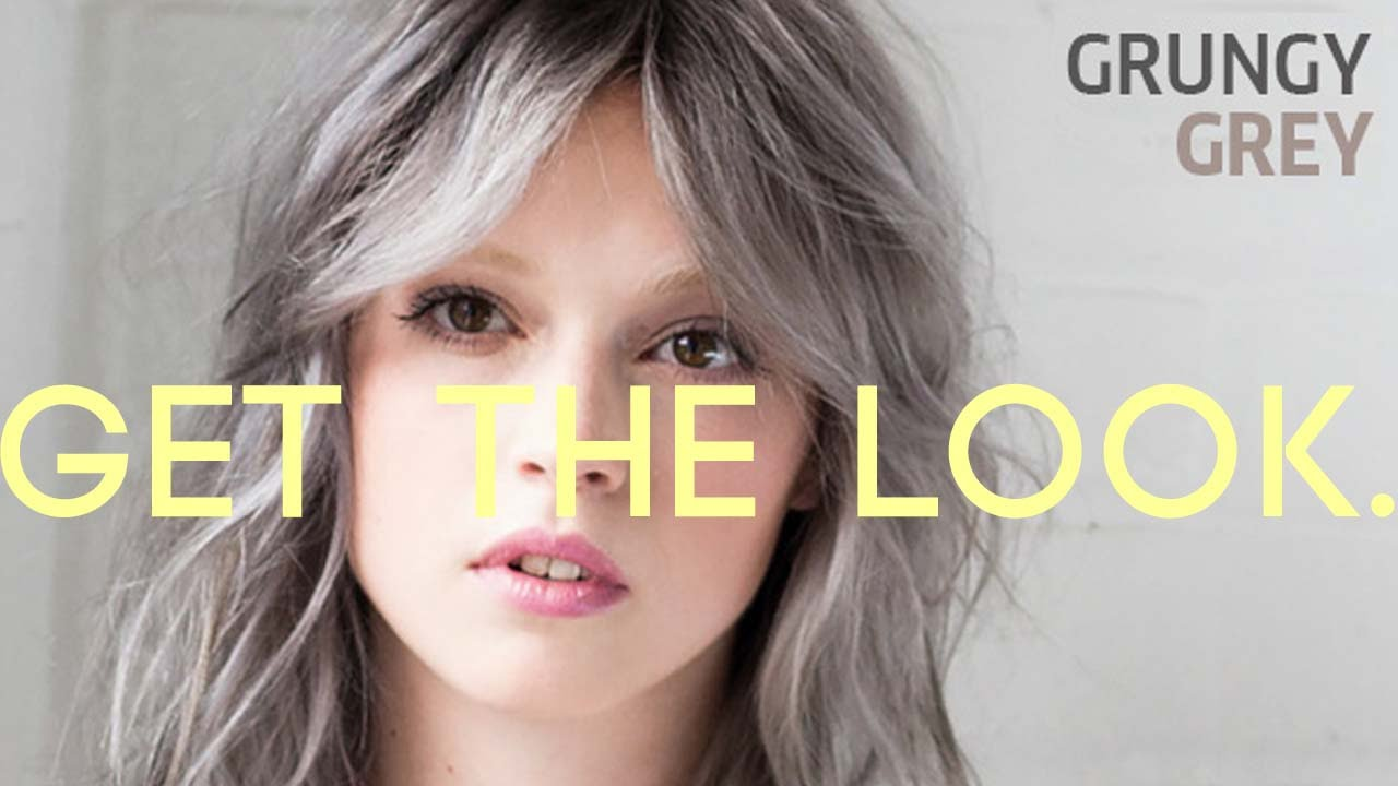 Get the look how to grungy grey with wella koleston perfect get the look how to grungy grey with wella koleston perfect innosense youtube geenschuldenfo Image collections