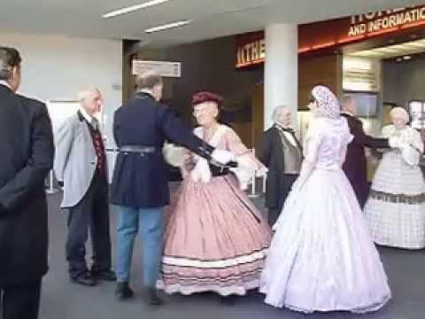 Metamora Dancers doing the Cinderella Dance [Regency era]
