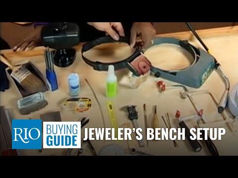 Jewelers Bench Setup
