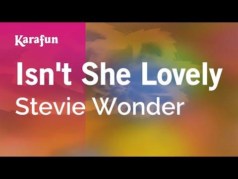 Karaoke Isn't She Lovely - Stevie Wonder *