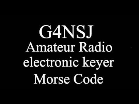 G4NSJ - Iambic Morse code paddle electronic keyer