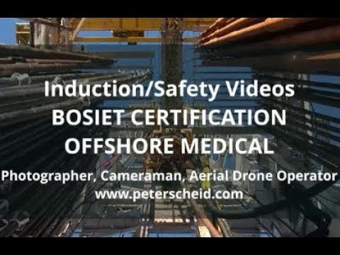 Safety & Induction Videos for the offshore Oil&Gas Industry. Rough cut, short preview