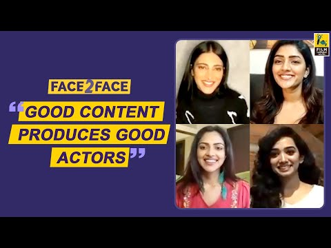 Amala Paul, Shruti Haasan, Eesha Rebba & Saanve Megghana Interview With Vishal Menon | Pitta Kathalu