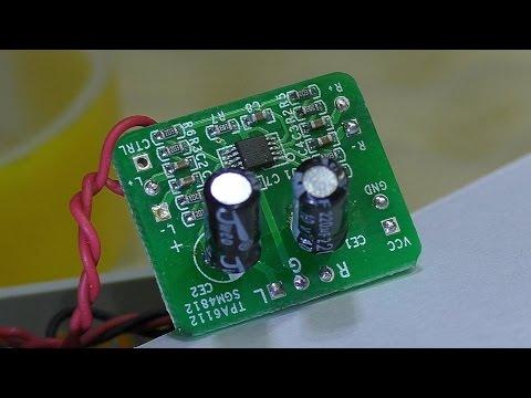 Доработка самодельного усилителя для наушников. Исправление АЧХ м/с SGM4812