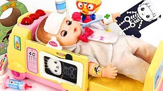 KongKong is injured! Kongsooni 911 Ambulance dispatched! | PinkyPopTOY