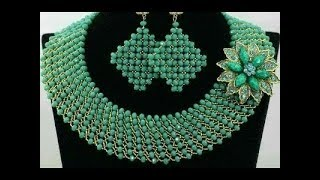 tutorial on how to make this wonderful beaded jewelry.