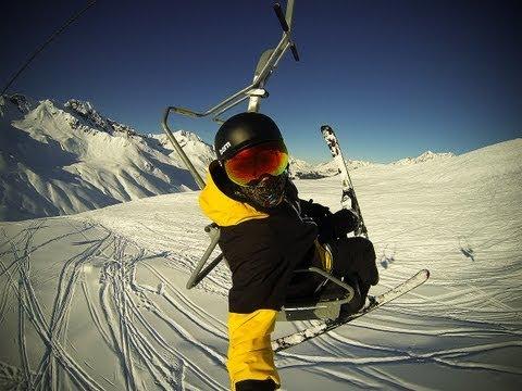 GoPro Hero 3 - Ski & Snowboard - Sun & Fun - 9 Freunde in Montafon
