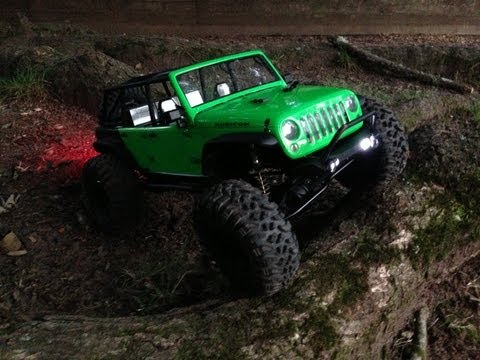 Axial SCX10JK Jeep Wroncho with Wraith Axles