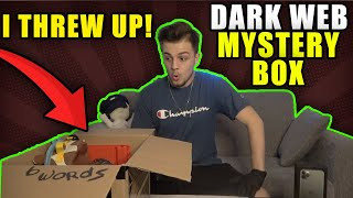 DARK-WEB MYSTERY BOX (GONE WRONG) VERY SCARY