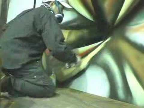 spray artist  XIN