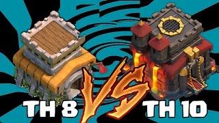 BÜYÜK KAPIŞMA : Köy Binası 8 Köy Binası 10 Karşı !?!  Kb8 Şampiyon Lig #15 Clash of Clans