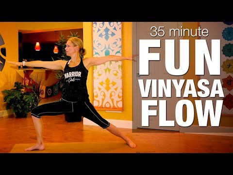 35 Min Fun Vinyasa Flow Yoga Class - Five Parks Yoga