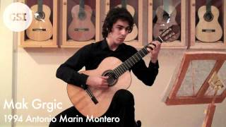 Myers 'Cavatina' played by Mak Grgic