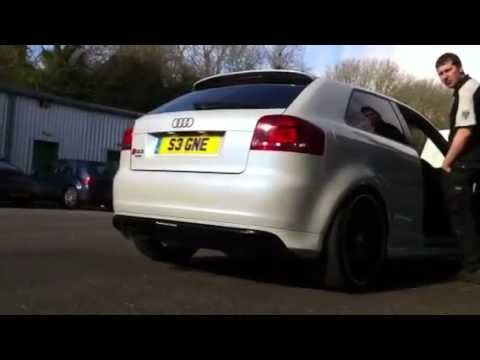 audi a3 3 2 v6 trd superchargerd stage2 milltek rev youtube. Black Bedroom Furniture Sets. Home Design Ideas