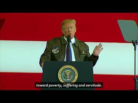 Trump Says No Dictator Should Underestimate U.S. Resolve