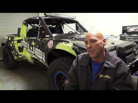 Dana Nicholson's Toyota Trophy Truck