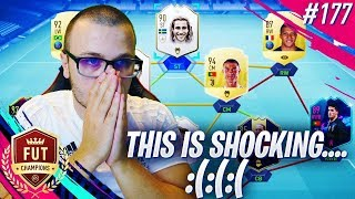 FIFA 19 PLAYED A SHOCKING FUT CHAMPIONS GAME! EA SPORTS REALLY DO THEIR BEST TO MAKE ME MAD