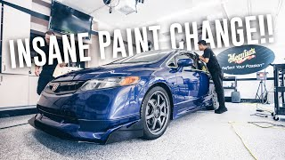 Pro Detailing the FA5 Mugen Civic Si with Store Bought Product!